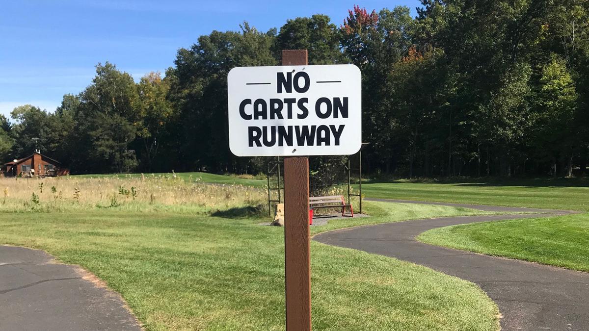 Voyager Village runway sign