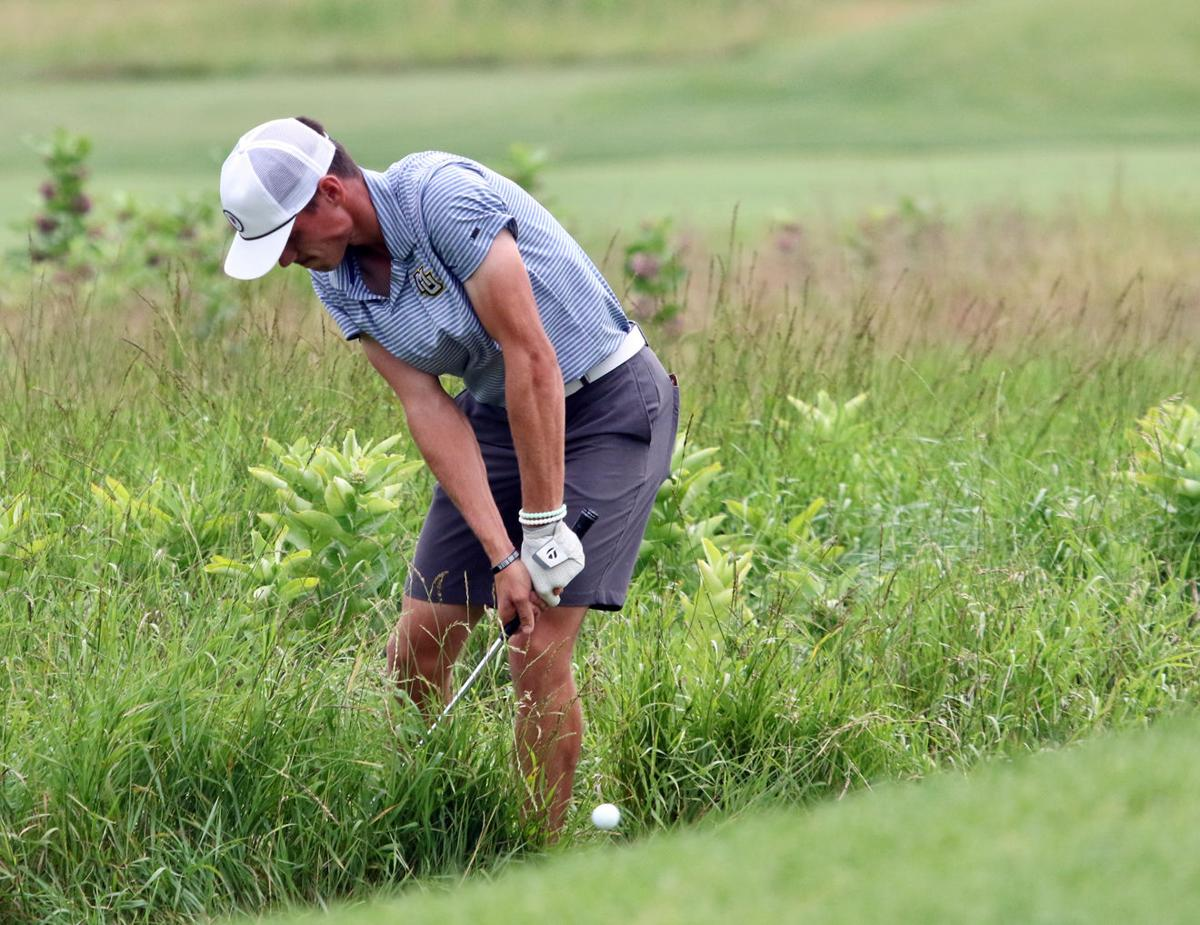 2019 Wisconsin State Amateur | Champion Hunter Eichhorn punches out of Lawsonia fescue