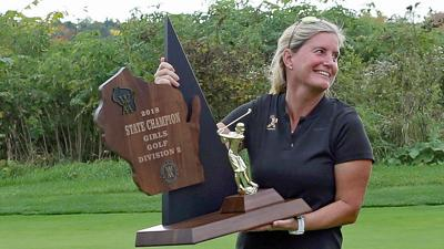 Peggy Gierhart 2018 trophy