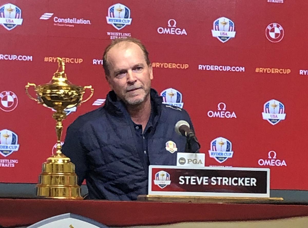 2020 Ryder Cup - Steve fielding question