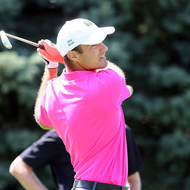 One shot, one goal separate Garrett Jones, Phillip Johnson as they top a crowded leaderboard at Wisconsin State Open