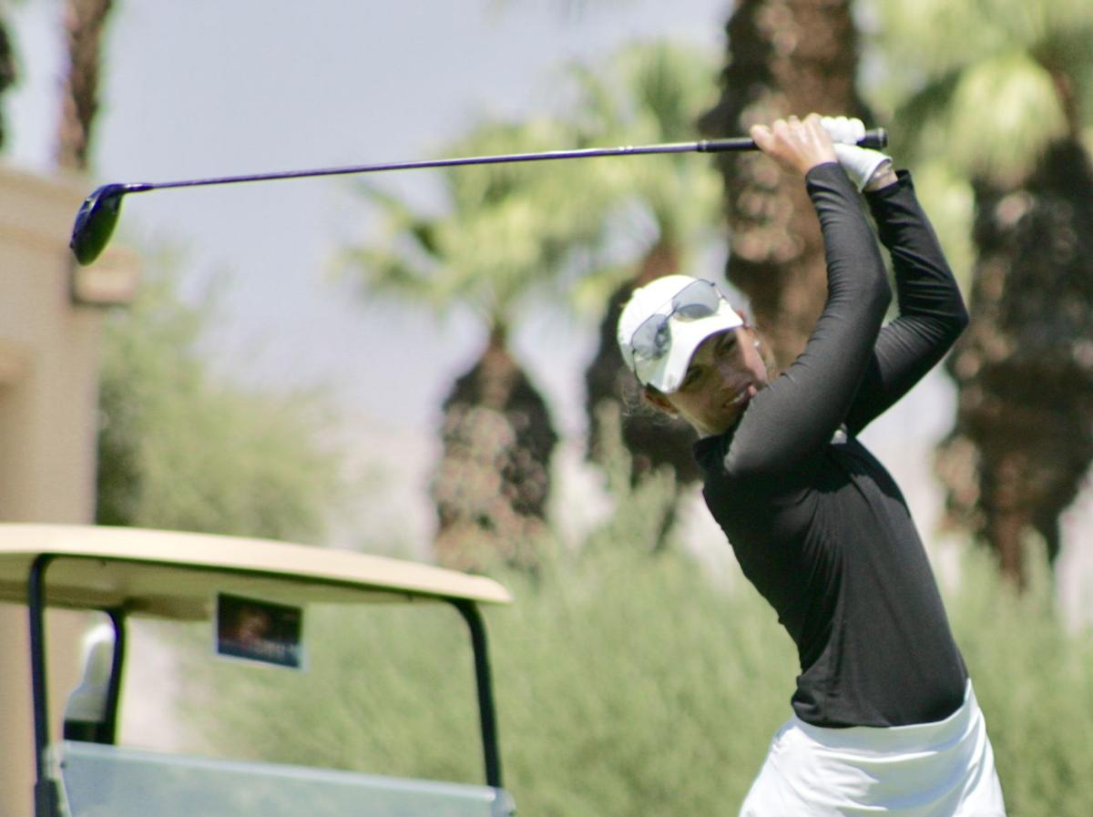 It's onto the LPGA Tour Q-Series for Lexi Harkins after the