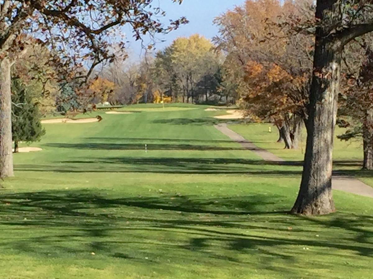 Majestic Oaks GC   Fifth hole
