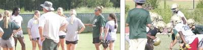 WCHS softball, football begin acclimation period