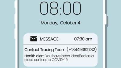 DHS contact tracing