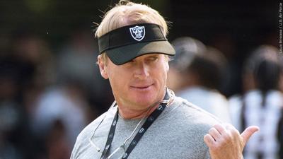 Jon Gruden out as coach