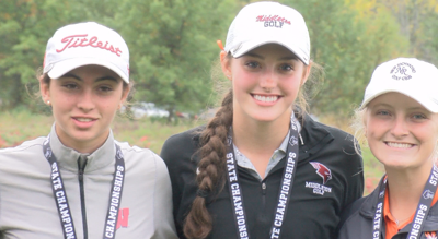 Middleton's Ellie Frisch placed 4th individually while the Cardinals took home 3rd as a team in Division 1.