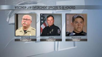 Law enforcement officers to be honored at national memorial