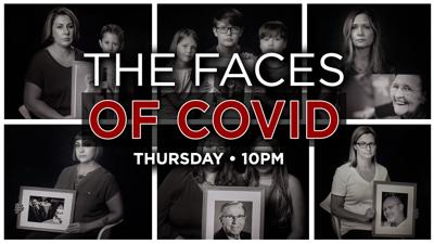 The faces of COVID-19