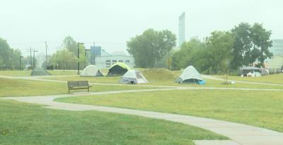 Madison homeless encampment 9-9-2020
