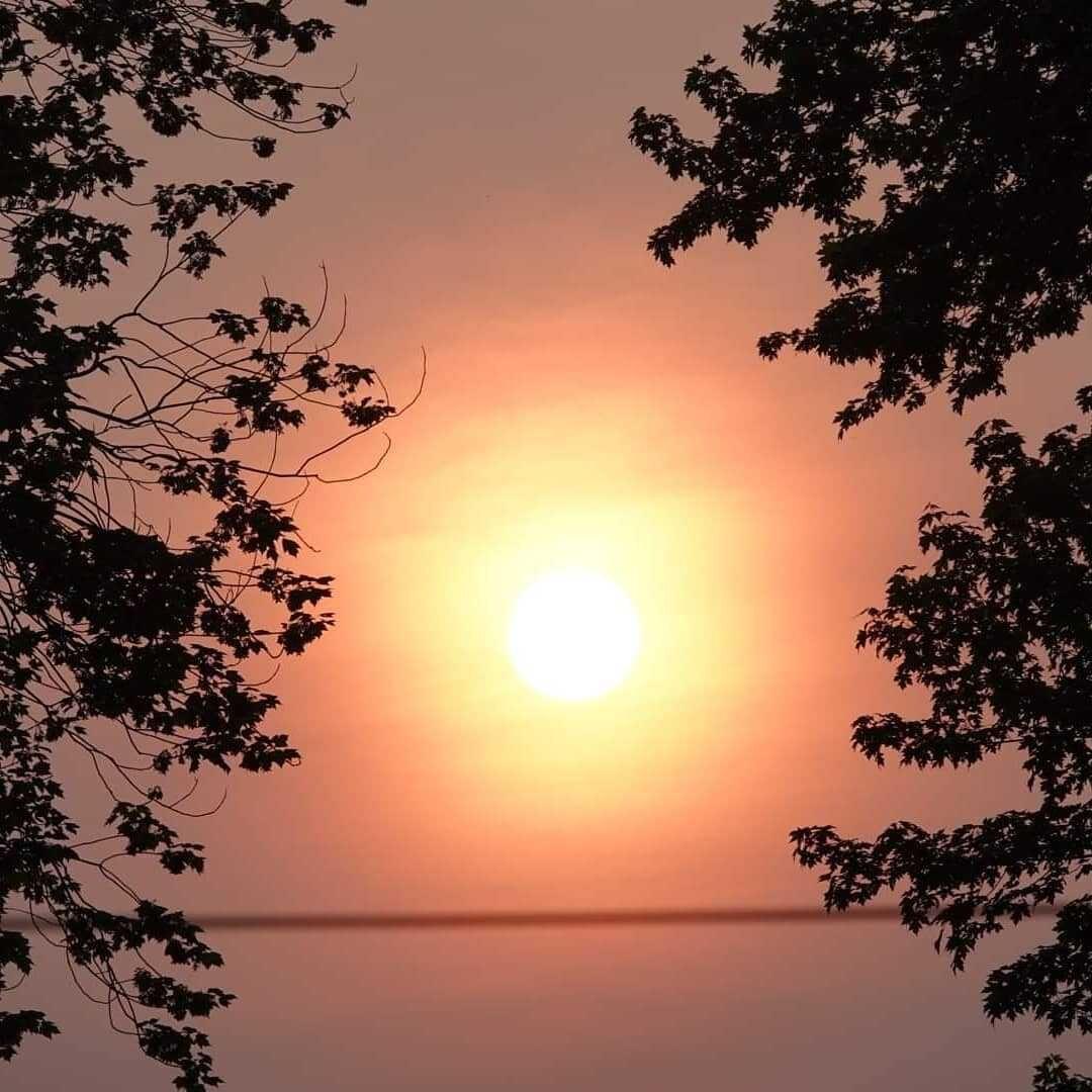 hazy-sunset