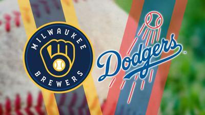 Brewers Dodgers Baseball 2020