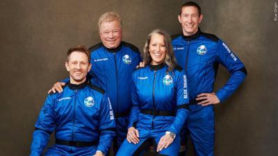 William Shatner on Blue Origin
