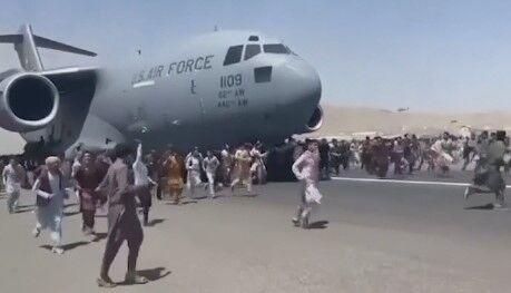 fleeing afghans