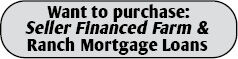 Seller Financed Farm & Ranch Mortgage Loans