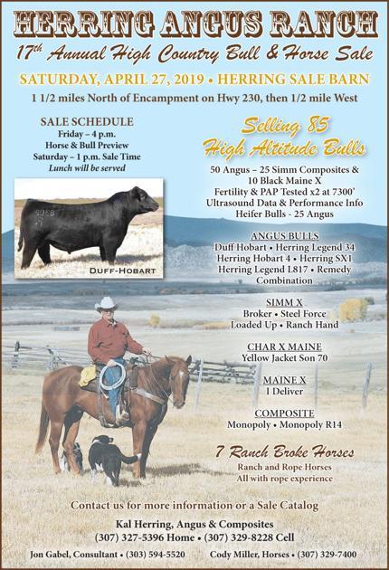 Herring Angus Ranch 17th Annual High Country Bull & Horse