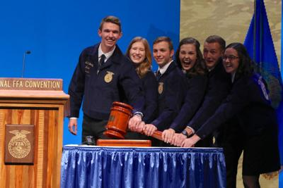 National FFA officers elected at convention