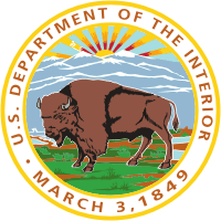 United States Department of the Interior seal