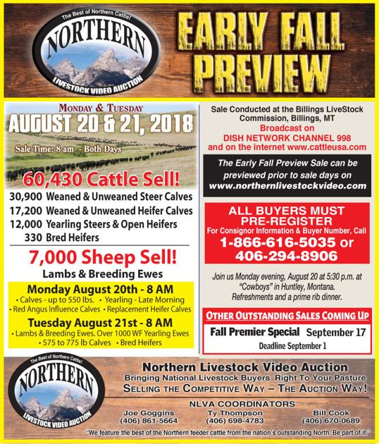 88072b67a246 Northern Livestock Video Auction Early Fall Preview
