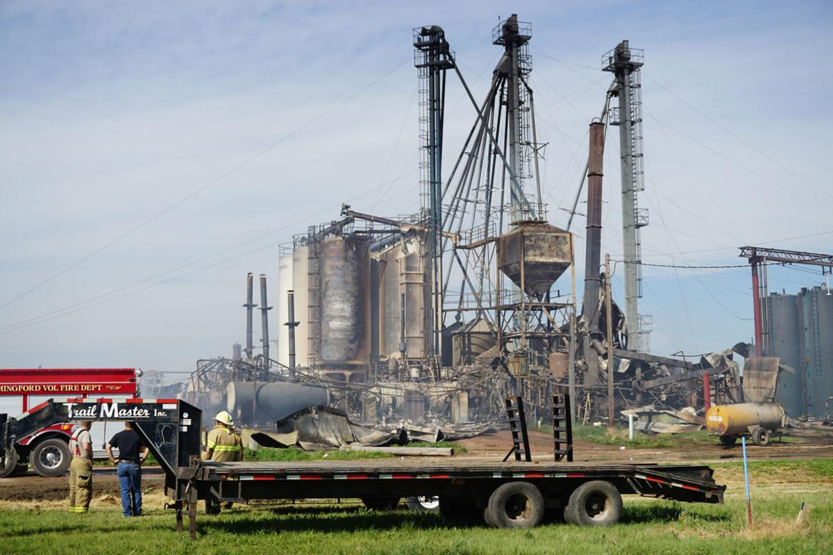 Vitalix plant destroyed in fire
