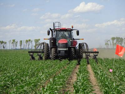Rising interest rates will test the strength of crop land