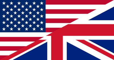 U.S. and UK Flags trade generic
