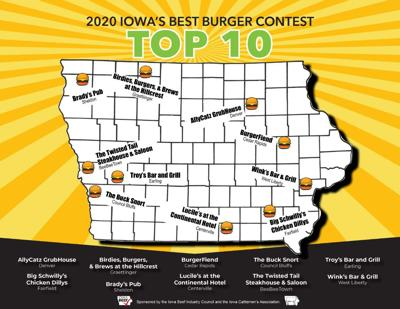Beef Bits Brief: IA top 10 burgers announced