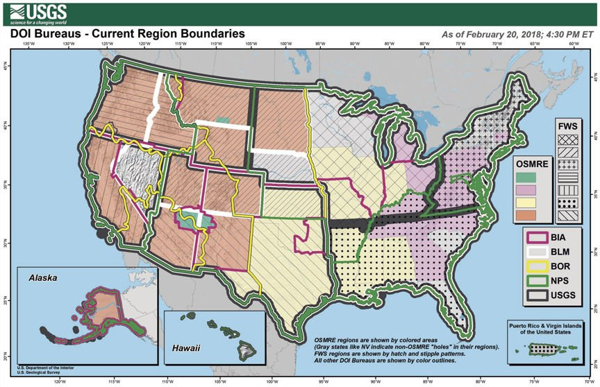 DOI offers revised regional map | Top Headlines | wlj.net
