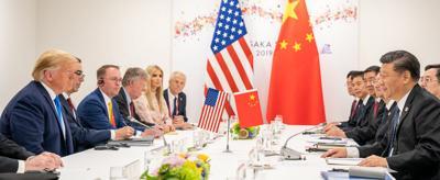 U.S.-China trade talks restarted at G20