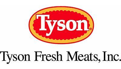 Kansas Tyson plant in flames