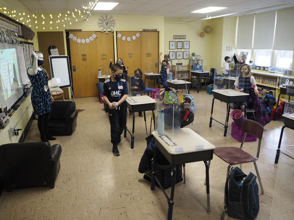 For Cumberland's Mercymount, full in-person learning continues with persistence, precautions