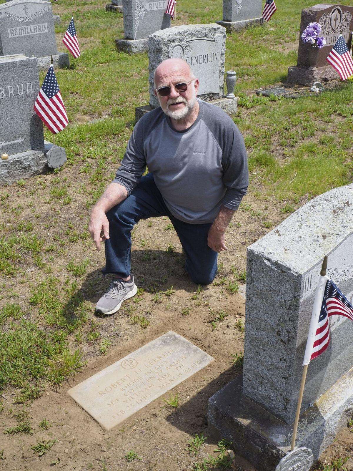 Site unseen: Vietnam vet works to ensure burial marker remains visible for friend killed in action