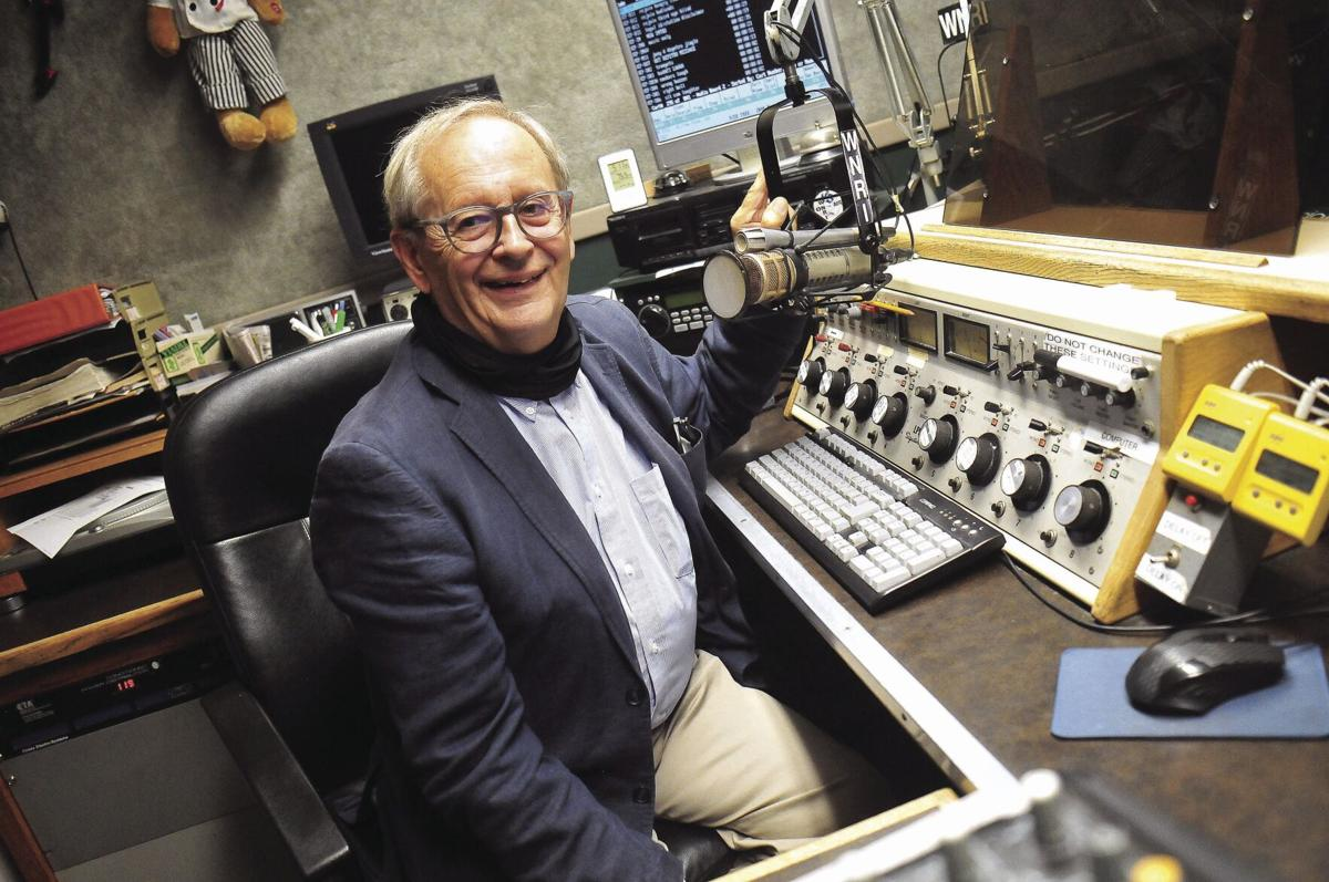 JOIN THE CLUB: Woonsocket Rotary Club President Roger Bouchard says civic group is looking for energetic new members