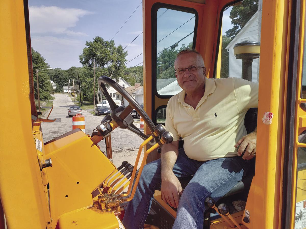 Hands-on approach by city DPW director helps with road projects