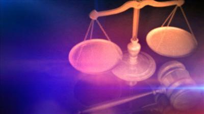 crime court scales gavel police lights