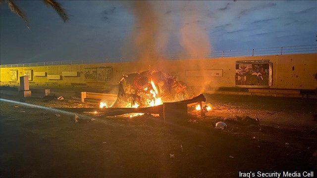 Baghdad airport rocket attack