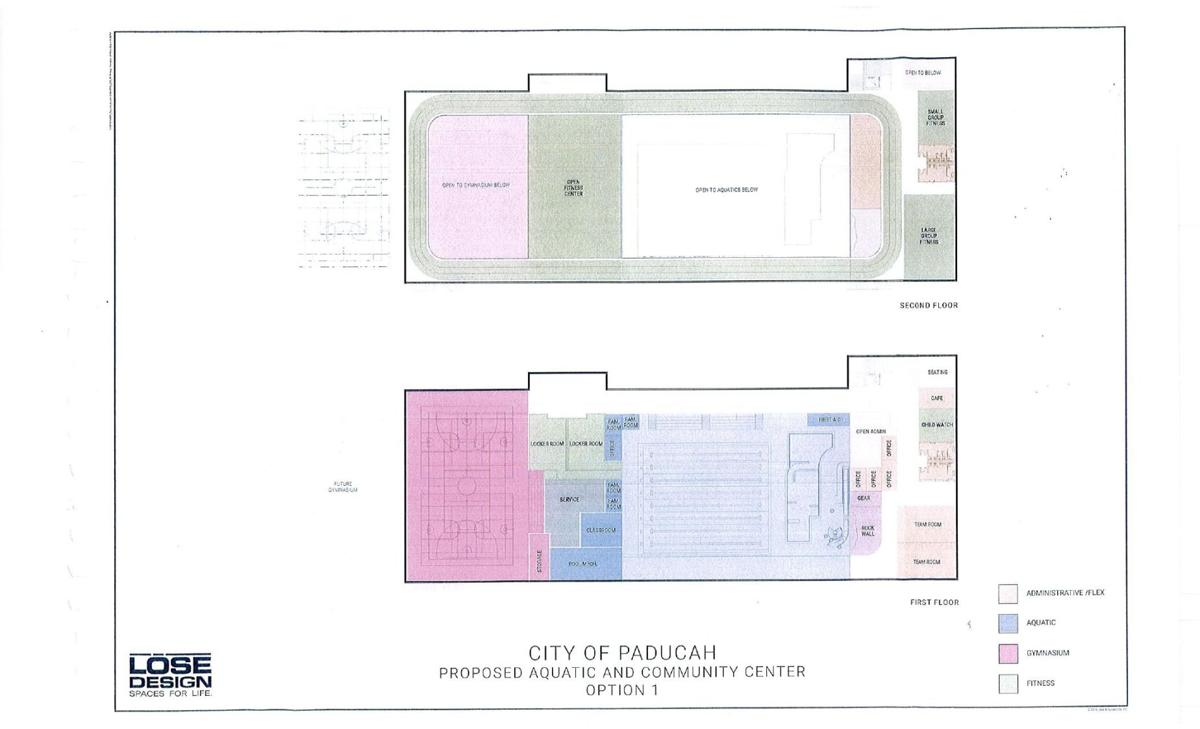 Aquatic floor plan
