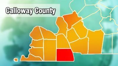 Calloway County COVID-19 map