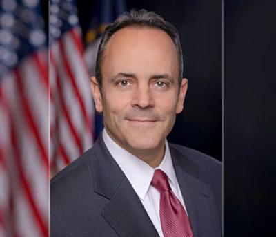 Governor Matt Bevin updated official photo with wings