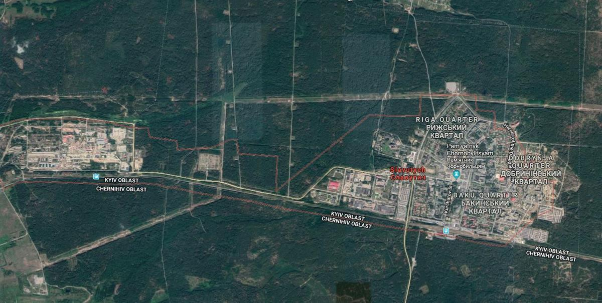 Inside Slavutych, the city created by the Chernobyl ... on aerial view of chernobyl, city of chernobyl, topo map of chernobyl, satellite view of chernobyl, world map of chernobyl, physical map of chernobyl,