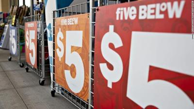 **This image is for use with this specific article only** Five Below