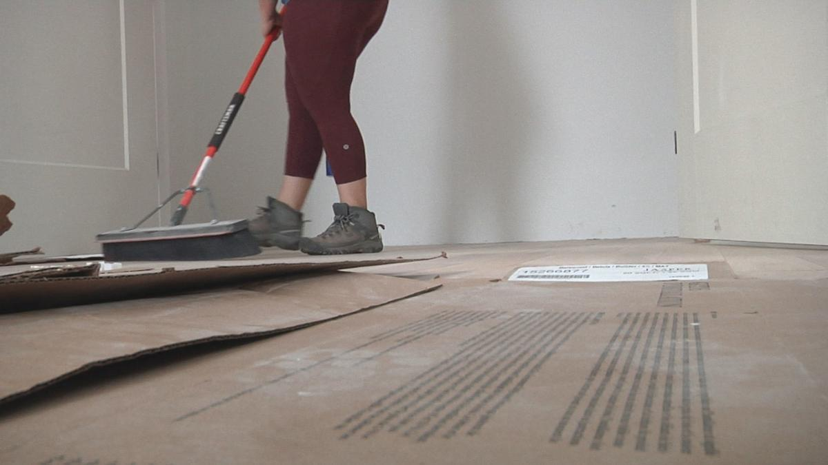 Harless sweeping