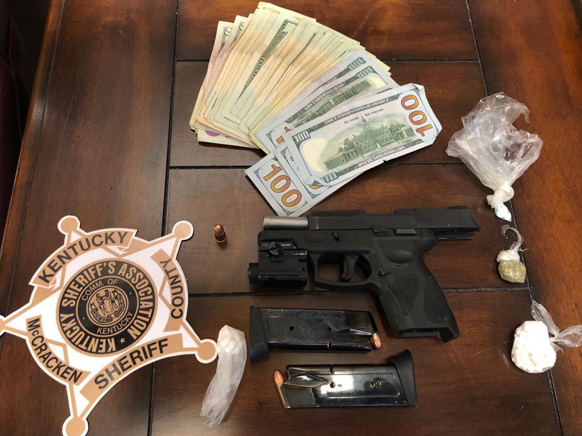 seized drugs, gun, cash McCracken County 9202019