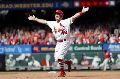 Bader's walkoff hit keeps Cardinals rolling with 4-3 win