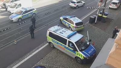 GERMANY SHOOTING CAUGHT ON VIDEO