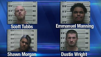 Four arrested after meth lab was found in Martin, TN motel
