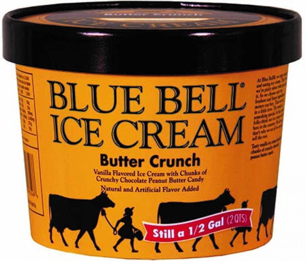 Blue Bell Butter Crunch recall1