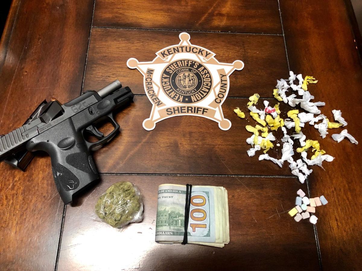 drug and gun arrest McCracken County 9182019