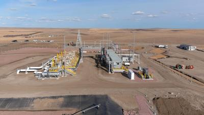 Pump station in South Dakota