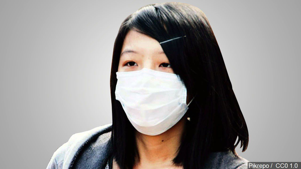 face mask virus protection